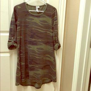 Camp tee A-line dress